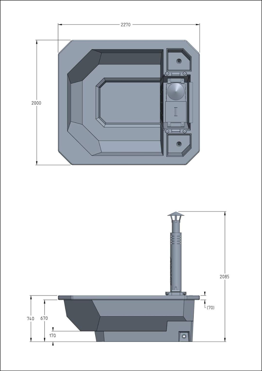 Carbo Hot Tub specifications